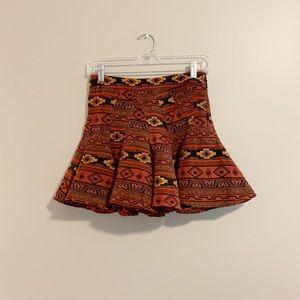 Aztec BCBG Skirt